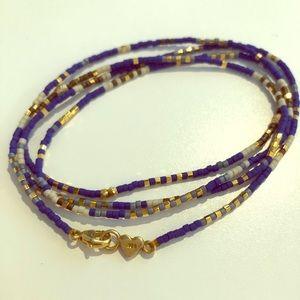 Chan Luu blue necklace